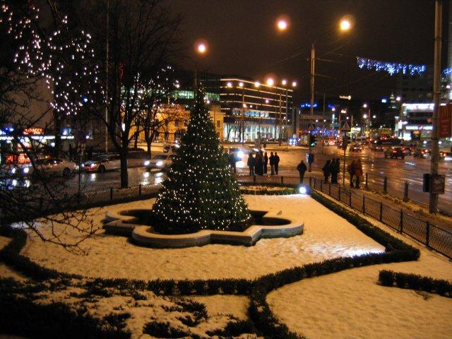 Jõuluvalgus teeb südame soojaks...
